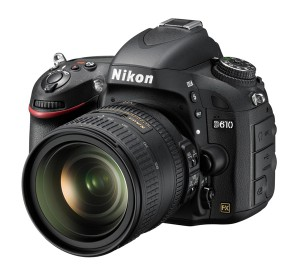 Nikon D610 with 24-85 VR Lens